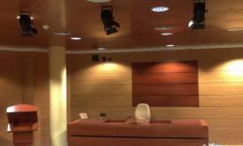 Salón de plenos. Ayuntamiento de Málaga