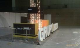Feria Mercartes 2012. FIBES. Stand Grupo Focus