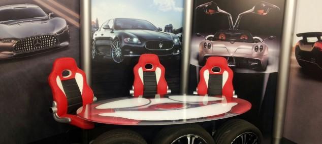 Diseño y producción decorado TV  programa (Mas que coches) TELECINCO