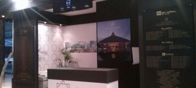 Stand Blue Bay para IX Feria comercial y exposición de tendencias y diseño